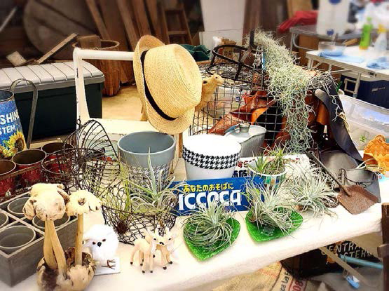 夏のイベントやクリスマスマーケットの出店